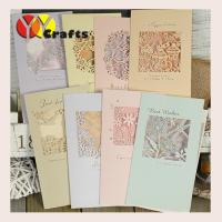 Best Laser cut wedding greeting card  birthday party decorations wholesale