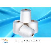 Best Embroidery Poly Spun Yarn AAA Grade Level , Raw 100% Virgin Polyester Sewing Yarn wholesale