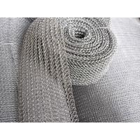 China Flexible 8 Mm-1200mm Stainless Steel Knitted Mesh Liquid And Gas Filtering on sale