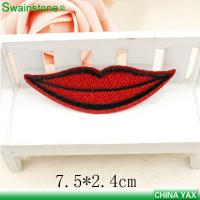 China Hot sale custom embroidery patches, sew on embroidery patches,embroidery patches for cloth on sale