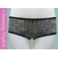 China Cotton Low Waist Panties , Printing lace hipster underwear Briefs for women on sale