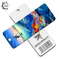 Cheap Plentiful Designs Deep 3D Lenticular Bookmark / Personalized Picture Bookmarks for sale