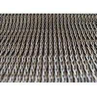 Cheap Hotel Decorative Spiral Mesh Belt , Conveyor Belt Wire Mesh SS304 Anti Corrosion And Rust for sale