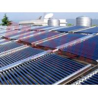 China 304 Stainless Steel Water Tank Vacuum Tube Solar Collector Centralized Solar Water Heating System on sale