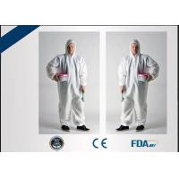 China Non Irritating Disposable Medical Protective Clothing , Disposable Operating Gowns on sale