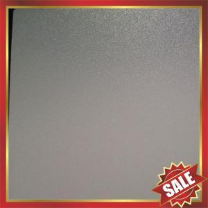 Best PC abrasive Sheet,matt polycarbonate sheet,frosted polycarbonate sheet,matt pc panel,frosted pc panel,nice decoration wholesale