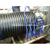 China PP Spiral Corrugated Pipe Extrusion Line HDPE Pipe Extruder 200mm-1200mm on sale