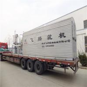China Hydraulic Push Arm Bitumen Production Plant , Drum Asphalt Manufacturing Plant on sale