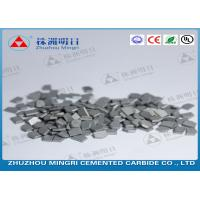 Best Mining And Oil Field Drill Tips Made Of Cemented Carbide Strong Bending Strength wholesale