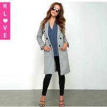 Best UK long-sleeved jacket collar suit new double button insert chest pocket long coat wholesale
