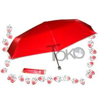 Best UV Protection Manual Open Umbrella , Two Person 3 Fold UmbrellaSturdy Frame wholesale