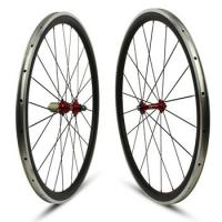 Buy cheap Lightweight Carbon Alloy Road Wheels 38mm Powerway Hub With Customized Color from wholesalers