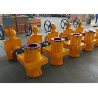 Best Closed Body Slurry Pinch Valve / Linatex Rubber Hose Valve For Mining wholesale