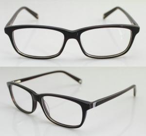 Best Lightweight Stylish Acetate Women / Mens Eyeglasses Frames with Demo Lens wholesale