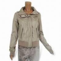 China Fashionable Women's Jacket, Available in Various Sizes and Colors, Made of 100% Poly on sale