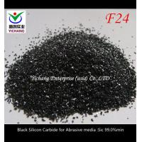 China F14-F1500 Black Silicon Carbide Abrasive Blasting Media Free Sample Provided on sale