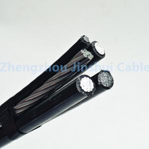 Best 0.6 / 1KV Voltage Aerial Bundle Cable 3 Phase Conductor For Transmission Line wholesale