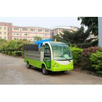 Best Green Color Hotel Or Park Electric Luggage Cart With Comfortable Chair wholesale
