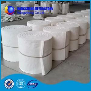 Cheap White Heat Resistence high temperature insulation board , ceramic fibre board for sale
