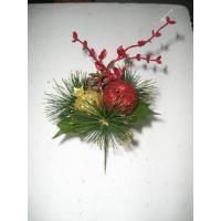 Best Golden / Red Pomegranate Calla Lilies Artificial Flower Garlands for Xmas Decorative wholesale
