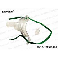 Best Comfortable Medical Respirator Mask  / Toucht Racheostomy Oxygen Mask With 360 Rotation Connector wholesale