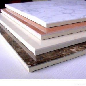 China Ceramic Laminated Marble Composite Panel on sale