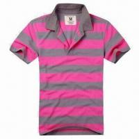 China Men's/Women's Polo T-shirt, OEM and ODM orders are Welcome on sale