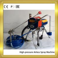 Best Electric Plunger Type Mortar Sprayer Machine For Ceiling of Building wholesale
