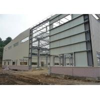Best Hot Rolled Steel Frame Workshop , Pre Built Metal Shops Ready Made Structural Sections wholesale