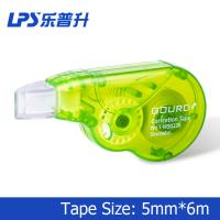 Buy cheap Custom Plastic Green Colored Correction Tape Mini Size 6M For Cover Error product