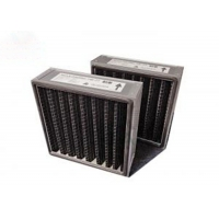 """Best Activated Carbon V Bank Filter Pleated Panel Thickness 1"""" 2"""" 4"""" Customized Size wholesale"""