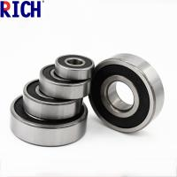 Best Brass Cage Dust Cover Ball Bearing 6200 , Low Noise Diesel Engine Bearings wholesale