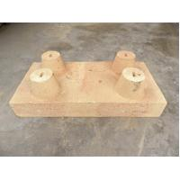 Buy cheap high alumina refractory ceiling brick for industrial furnace roof product