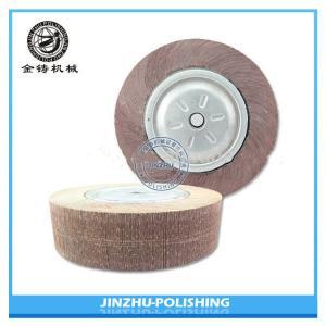 China Long Working Life Flap Polishing Wheel , Abrasive Flap Wheels For Metal on sale