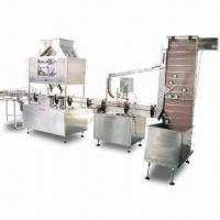 Automatic Coffee Filling/Capping Machine with Advanced Technology, Made of Stainless Steel