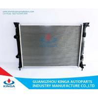 China 16mm / 26mm Aluminium Car Radiators For Renault Megane'02-MT & Scenic'03-MT on sale