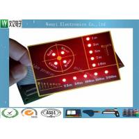 Buy cheap SMT Circuit With LED Backlight Illuminated Embossing Key Membrane Switch from wholesalers