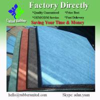 China 2013 Beautiful & Comfortable safety rubber flooring tile on sale