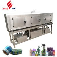 China Glass / Plastic Bottle Steam Shrink Tunnel Machine , Tunnel Wrapping Machine on sale