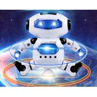 Best New Electric Robot Children's Toy Space Dancing Electric Robot 360 Degree Rotating Light Music Toy wholesale