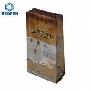 China bulk Big Heat Seal Side Gusset PET Eco Cat Food Packaging on sale