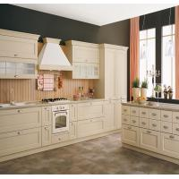 Best White Color White Shaker Kitchen Cabinets , Pre Assembled Kitchen Cabinets wholesale