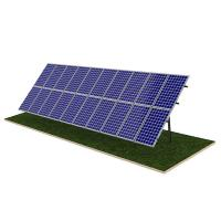 Best Steel Pile Solar Panel Ground Mounting Systems Rapid Installation 20M Max Building Height wholesale