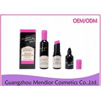 Buy cheap Red Wine Long Wear Lipstick , Double Headed Non Toxic Lipstick 6 Colors from wholesalers