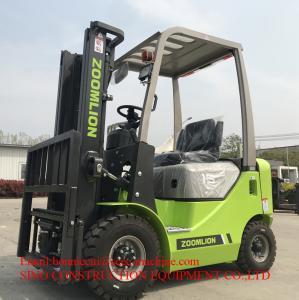 China 3.5 Ton 20 km/h  Diesel Forklift Truck ISUZU Engine Container on sale