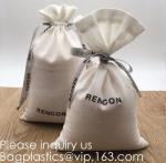 Best Double Canvas Drawstring Bag Cotton Pouch Gift Sachet Bags Muslin Bag Reusable Tea Bag,Organic Cotton Reusable Produce B wholesale