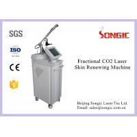 Best Professional Vertical Style RF Fractional Co2 Laser Machine For Skin Renew wholesale