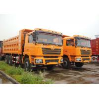 China 6 X 4 Shacman 10 Wheel Dump Truck , Heavy Equipment Dump Truck For Mineral on sale