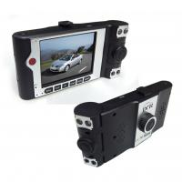 China High Speed Plug And Play Dual Camera Car DVR CMOS Built-in MIC , Speaker on sale