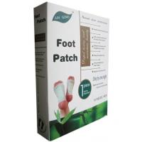 Cheap Green Body Detox Foot Pads / Patch , japanese detox patches for feet for sale